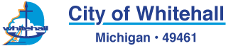 City of Whitehall, MI Sticky Logo